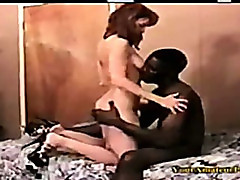 Amateur interracial blowjob