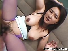Busty Japanese Whore Getting Her Pussy Part3