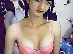 Slim horny Asian Tranny