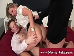 Lady addicted to double penetrations