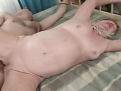 Old granny gets fucked hard and really deep