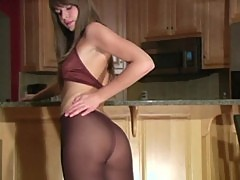 Adrienne manning pantyhose