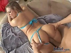 Brianna love makes love to our cock with ...