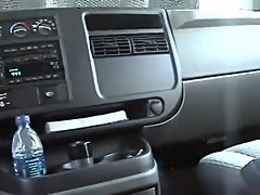 HOT PINKHAIRED AMATEUR SLAMMED IN THE CAR