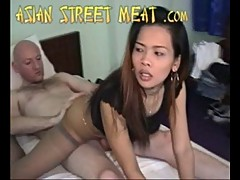 Asian Street Meat Thai Girly Sucks Cock In Motel