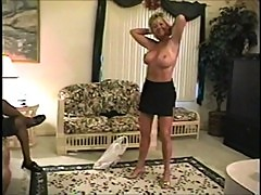 Amateur in her 50s - Threesome