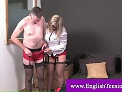 Dominatrix transforms her sissy boy