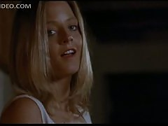 Gorgeous Jodie Foster Puts On Sexy Black Stockings - Catchfire Scene